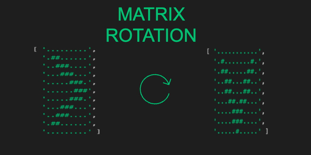 Matrix Rotation in JavaScript